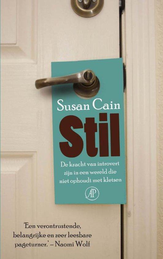 Boek cover Stil van Susan Cain (Paperback)
