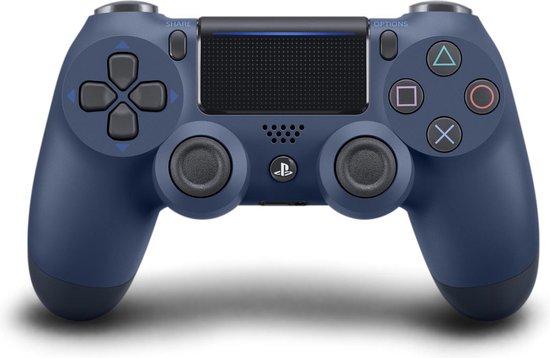 Afbeelding van Sony DualShock 4 Controller V2 - PS4 - Midnight Blue