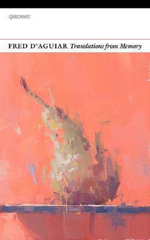 Boek cover Translations from Memory van Fred DAguiar (Paperback)