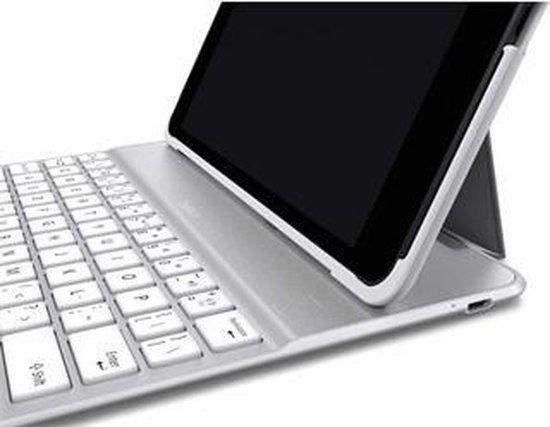 Belkin QODE Ultimate Hoes met QWERTY Tablettoetsenbord voor iPad Air Wit