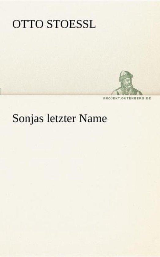 Sonjas Letzter Name