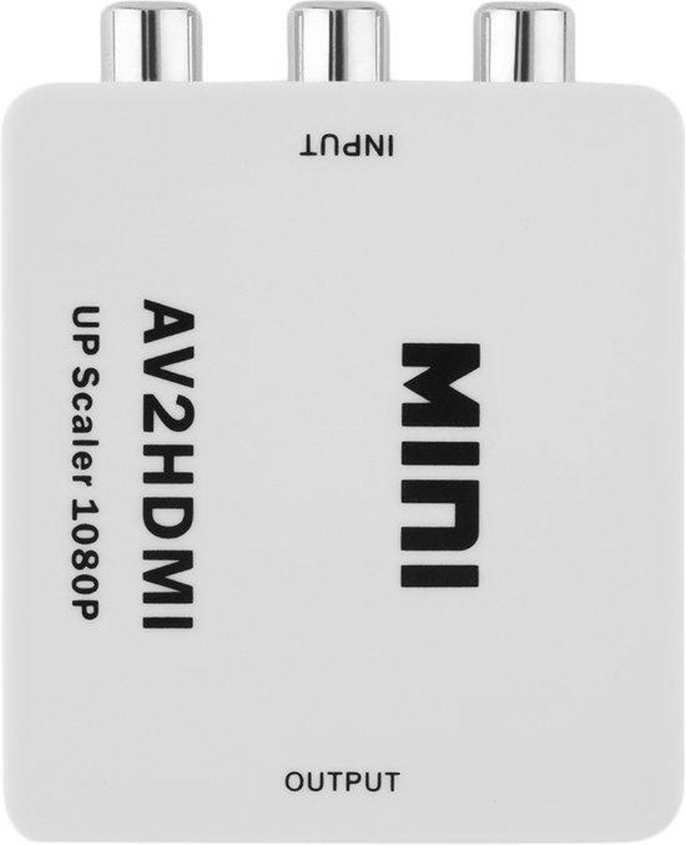 Tulp Naar HDMI Converter - AV / Composiet RCA To HDMI Audio Video Kabel Adapter Converter