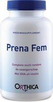 Orthica Prena Fem Zwangerschap Multivitaminen  - 120 Capsules