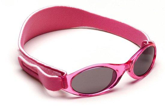 BabyBanz UV zonnebril Kinderen Roze Maat 0 2 jaar