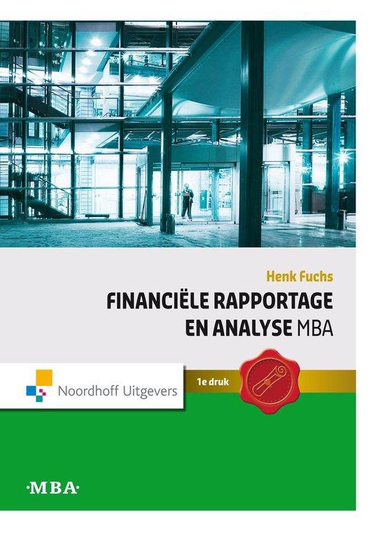 MBA Financiële rapportage en analyse - Henk Fuchs |