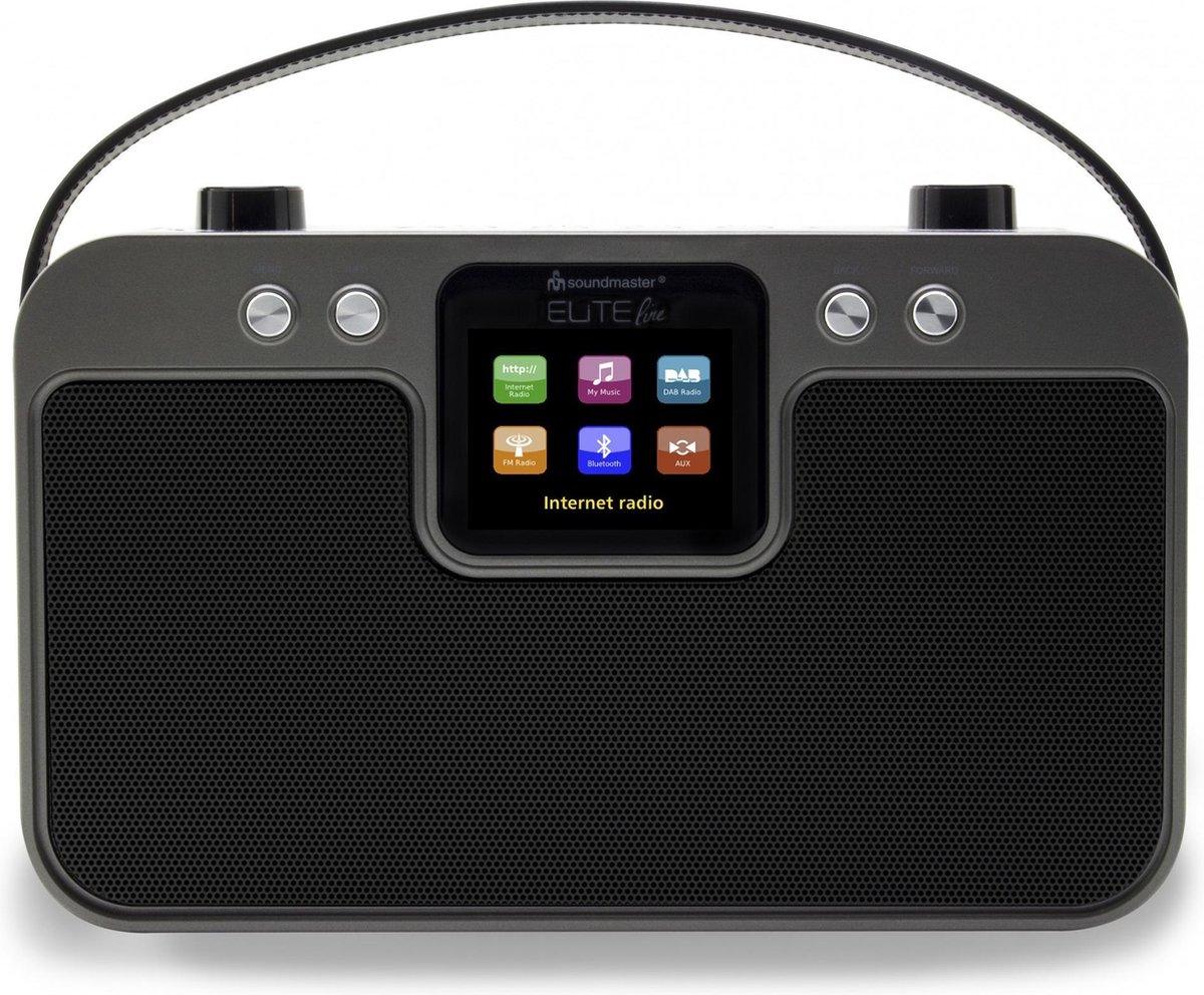 Soundmaster Elite Line radio Internet Digitaal Zwart