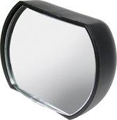 dodehoekspiegel vrachtwagens 14 cm zwart