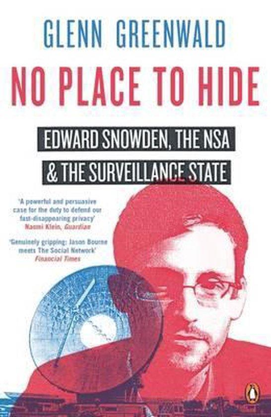 Boek cover No Place to Hide van Glenn Greenwald (Paperback)