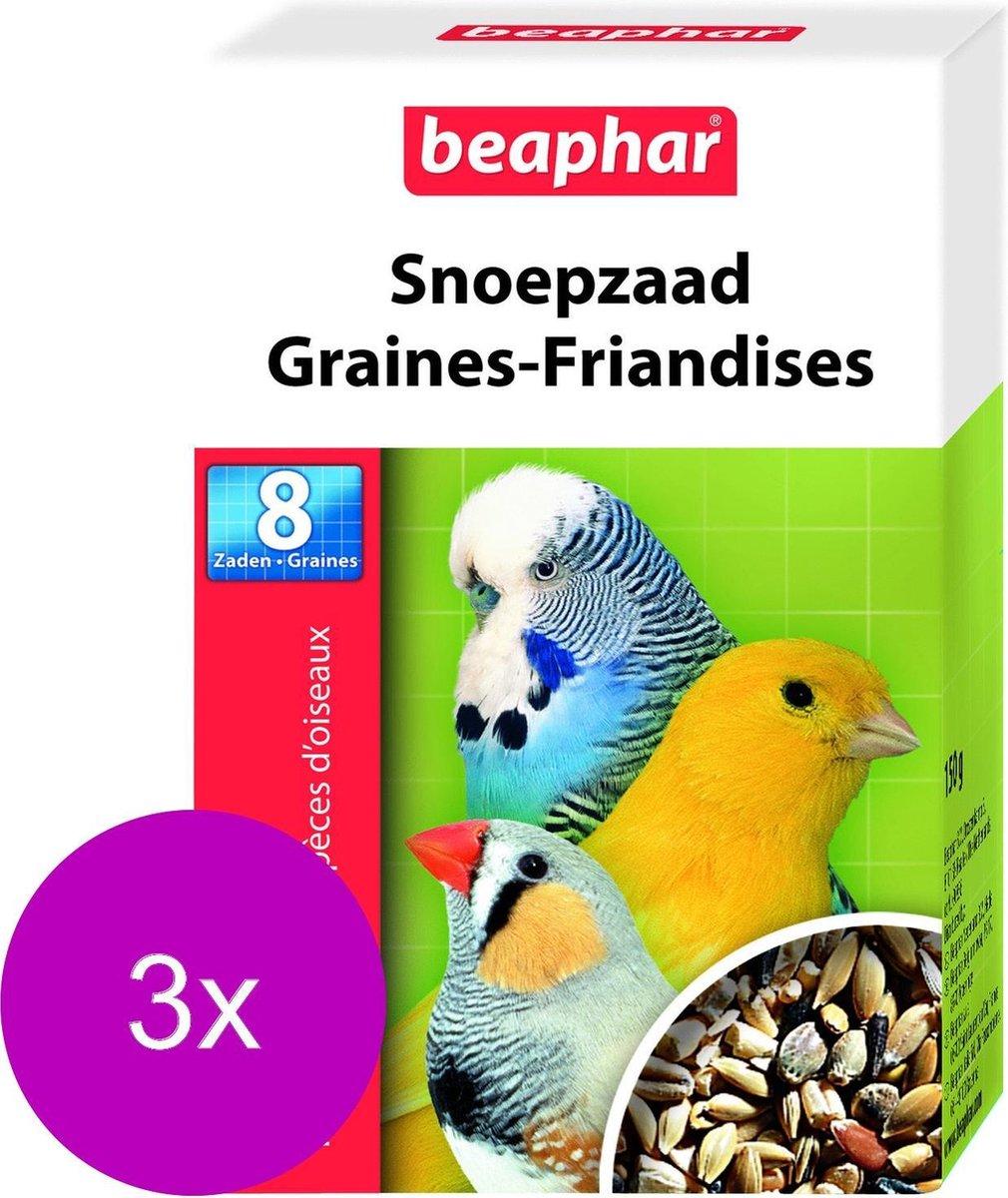 Beaphar Snoepzaad - 3 a 150 gr - Vogelsnack