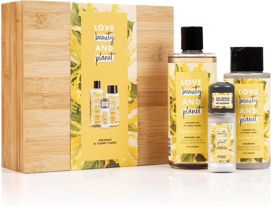 Love Beauty And Planet Yellow BambooBox Coconut Oil & Ylang Ylang - Geschenkset