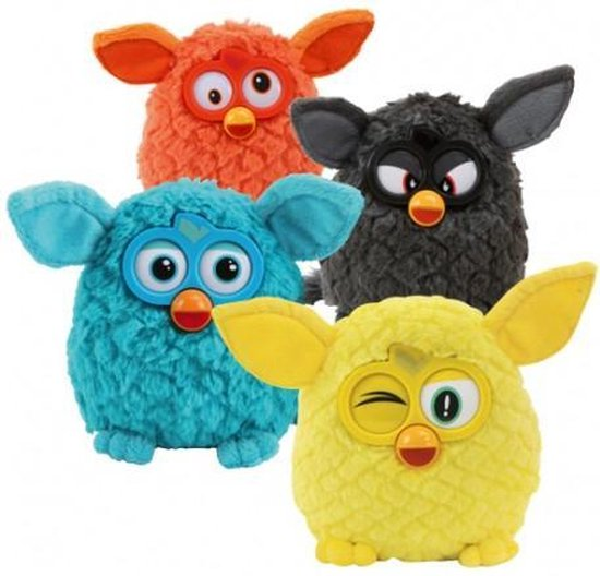 Furby14cm Medium Plush Assortment of 6 /Toys