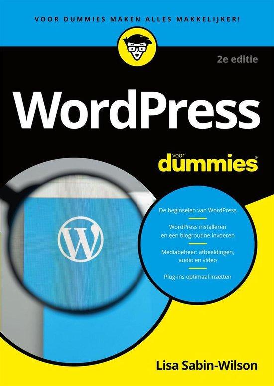 Voor Dummies - WordPress voor Dummies - Lisa Sabin-Wilson  