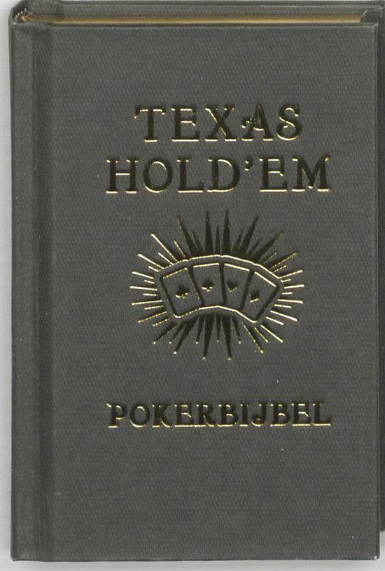 Cover van het boek 'Texas Hold'em'