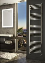 Sanifun handdoekradiator Medina Rondo 1200 x 600 Chroom