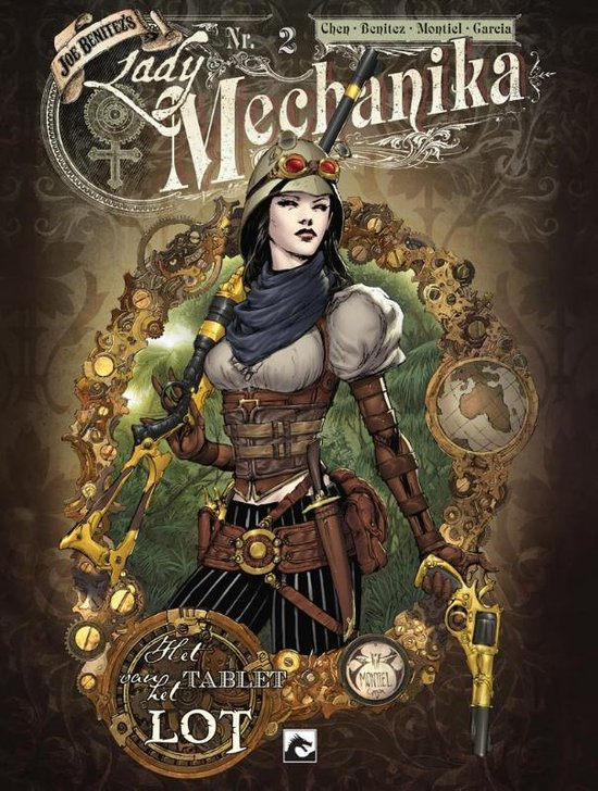 Lady Mechanika 2 - Tablet van het lot - M.M. Chen |