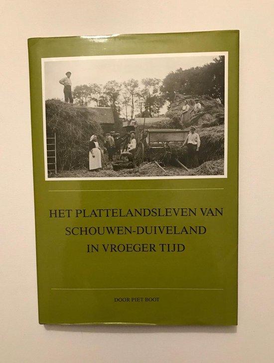 Het plattelandsleven van Schouwen-Duiveland in vroeger tijd - Boot, Piet pdf epub