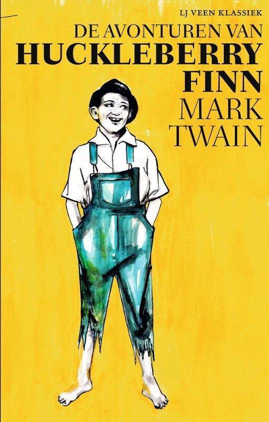 LJ Veen Klassiek - De avonturen van Huckleberry Finn - Mark Twain  