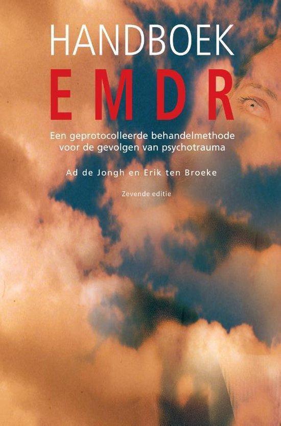 Boek cover Handboek EMDR, 7e editie van Ad de Jongh (Paperback)