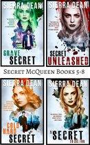 Secret McQueen Books 5-8