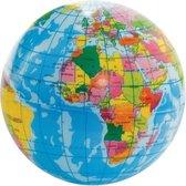 Foam aarde globe wereldbol 6 cm - Stressballen - Save the planet