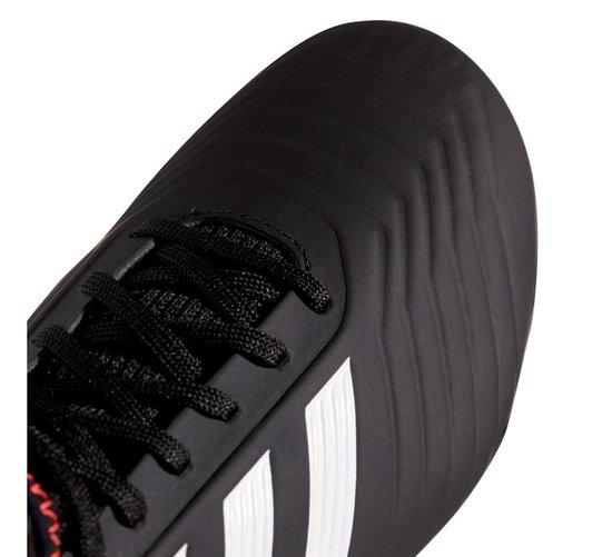 adidas Predator 18.3 FG  Voetbalschoenen - Maat 38 2/3 - Unisex - zwart/wit/goud