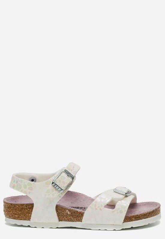 Birkenstock Rio Metallic Stones White Sandalen Kids Size : 34 gDk1g3dY