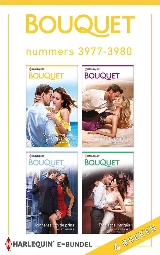 Bouquet e-bundel nummers 3977 - 3980 (4-in-1) - Melanie Milburne  