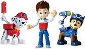 PAW Patrol Actie Figuren Marshall, Ryder en Spy Chase