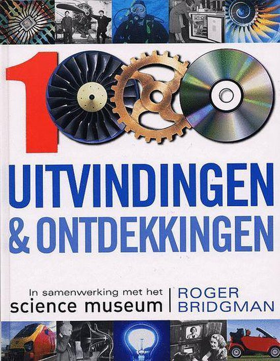 Cover van het boek '1.000 uitvindingen & ontdekkingen' van Roger Bridgman