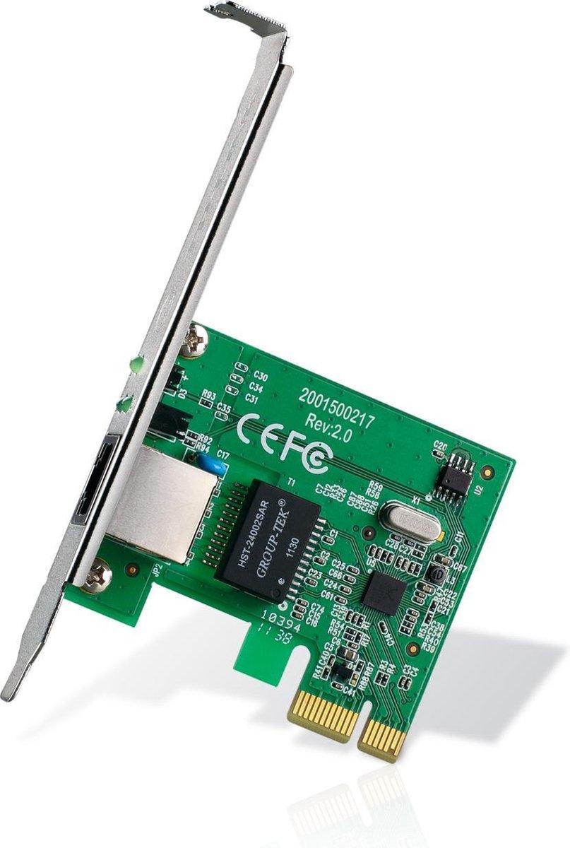 TP-Link TG-3468 - Gigabit Ethernet Adapter PCI-e netwerkkaart