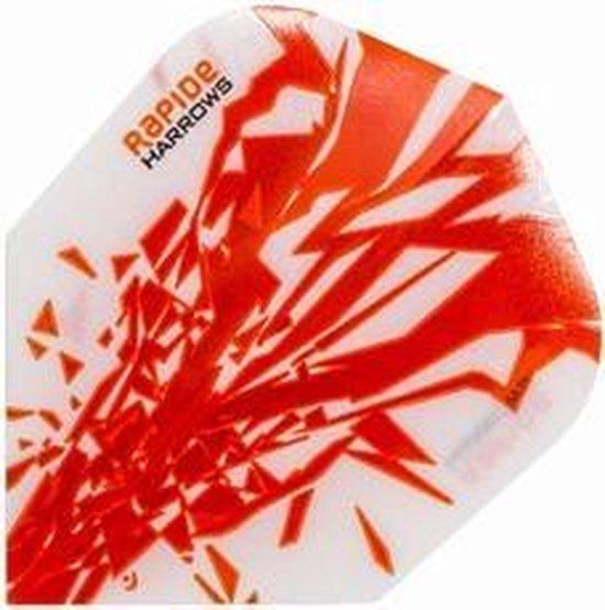 Afbeelding van het spel Harrows flights Rapide Orange  Set à 3 stuks