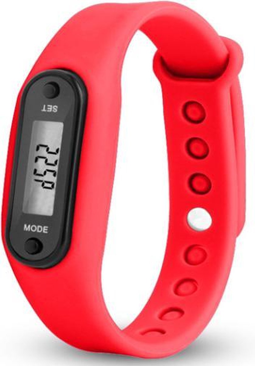 Sport horloge rood - Merkloos