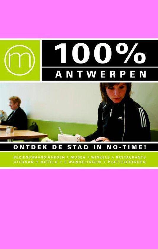 Cover van het boek '100% Antwerpen' van S. Mastbroek