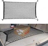 Universele auto kofferbak cargo organizer net - 4 schroef pluggen meegeleverd - Bagagenet - Kofferbaknet - 170 x 110 cm !