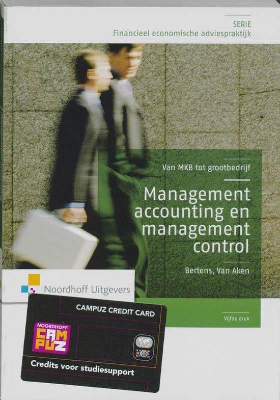 Management control en accounting - Antoon J. van Aken |