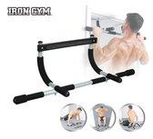 Iron Gym Original  Deurtrainer - Door Gym - Optrekstang