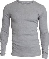 Garage 303 - T-shirt 1-pack Semi Body Fit Long Sleeve R-Hals Grijs Melange - M