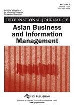 International Journal of Asian Business and Information Management, Vol 3 ISS 2