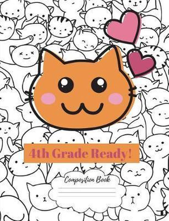 Composition Book 4th Grade Ready!