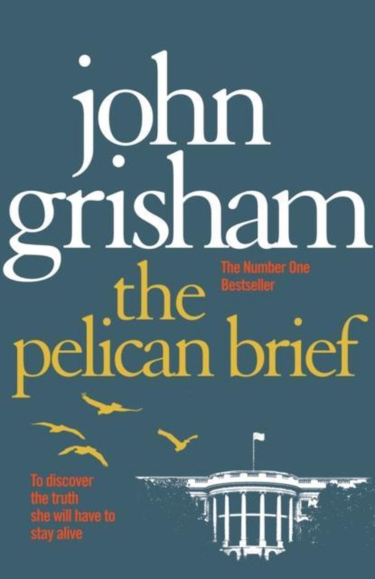 Omslag van The Pelican Brief