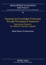 Opening Up Knowledge Production through Participatory Research?