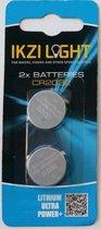 Ikzi Light Batterijen 3v Cr2032 2 Stuks