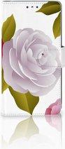 LG K10 (2017) Bookcase Hoesje Roses