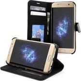 Samsung S7 EDGE Portemonnee Hoesje Case Olifant Wit