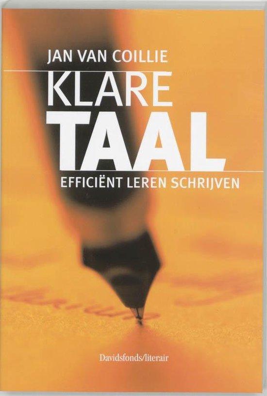 Klare taal - Jan van Coillie |