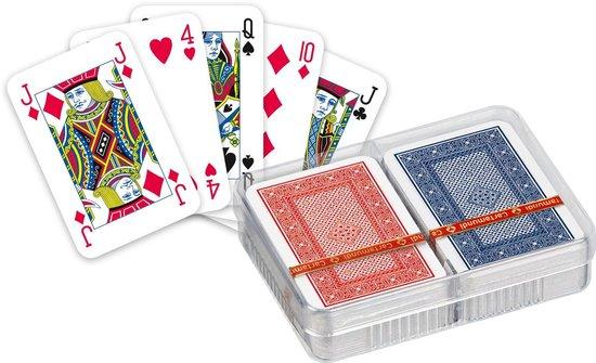Afbeelding van het spel Ace Patience Rood en Blauw - Mini Dubbel Deck