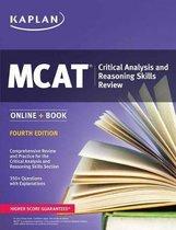 Boek cover MCAT Critical Analysis and Reasoning Skills Review 2018-2019 van Kaplan Test Prep