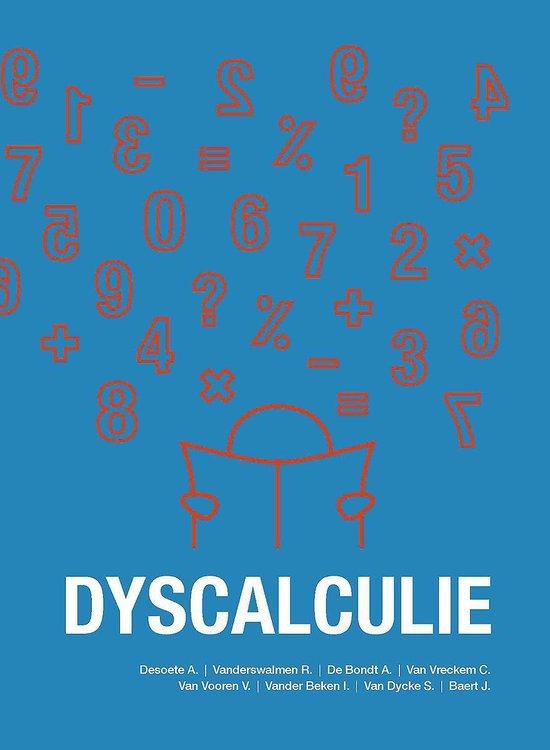 DYSCALCULIE EDITIE 2015 - Annemie Desoete |