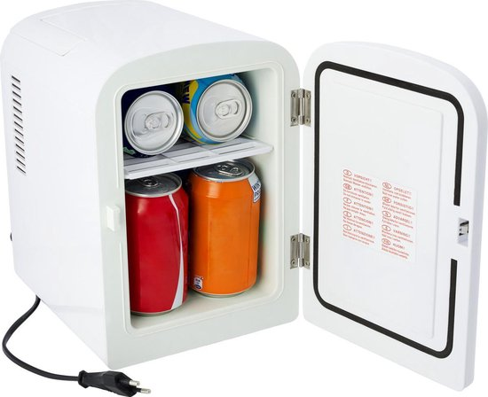Bol Com Mini Koelkast 4 Liter Met 12v Of 100 240v Aansluiting