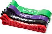 Workout Gear - Weerstandsband - Fitness Elastiek - Package Deal